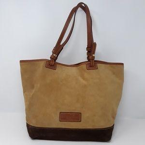 DOONEY & BOURKE Tan Suede Handbag